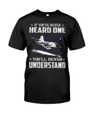 HEARD ONE - UNDERSTAND Classic T-Shirt front