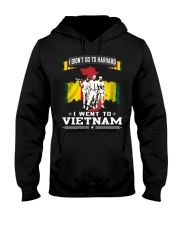 I DID NOT GO TO HARVARD-I WENT TO VIETNAM Hooded Sweatshirt tile