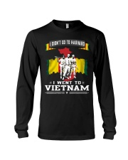 I DID NOT GO TO HARVARD-I WENT TO VIETNAM Long Sleeve Tee thumbnail