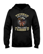 VETERAN-NOBODY GIVES ME THIS TITLE Hooded Sweatshirt thumbnail