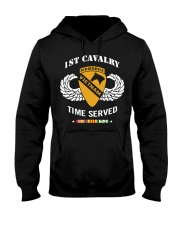 1ST CAVALRY-TIME SERVED Hooded Sweatshirt thumbnail