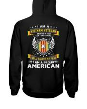 I AM A VIETNAM VETERAN-I AM A PROUD AMERICAN Hooded Sweatshirt thumbnail