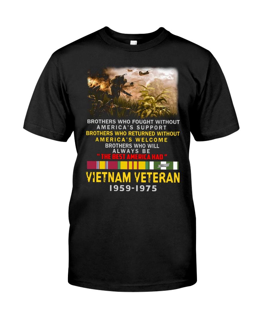 THE BEST AMERICAN HAD-VIETNAM VETERAN Classic T-Shirt