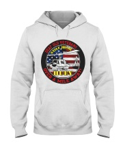 OVER A MILE AWAY Hooded Sweatshirt thumbnail