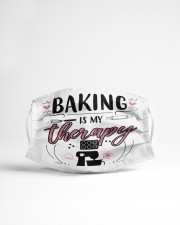 baking is my therapy Cloth face mask aos-face-mask-lifestyle-22