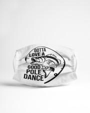 Good pole dance Cloth face mask aos-face-mask-lifestyle-22