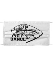 Good pole dance Cloth face mask front
