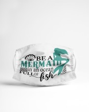 Be a mermaid Cloth face mask aos-face-mask-lifestyle-22