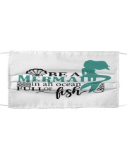 Be a mermaid Cloth face mask front