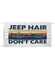 LH Jeep Care Cloth face mask front