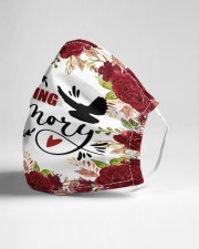 In loving memory Cloth face mask aos-face-mask-lifestyle-21
