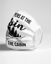 Stays at the cabin Cloth face mask aos-face-mask-lifestyle-21