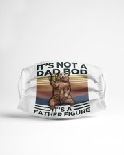 It is not a dad bod Cloth face mask aos-face-mask-lifestyle-22