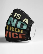 This Is A Mind Control Device Cloth face mask aos-face-mask-lifestyle-21