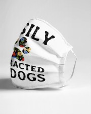 Easily distracted by dogs Cloth face mask aos-face-mask-lifestyle-21