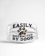 Easily distracted by dogs Cloth face mask aos-face-mask-lifestyle-22