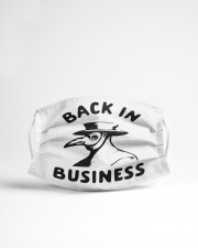 Back in business Cloth face mask aos-face-mask-lifestyle-22