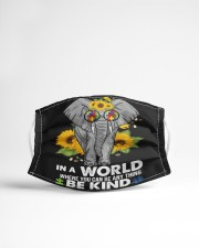 Be kind elephant Cloth face mask aos-face-mask-lifestyle-22