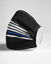 Back the blue Cloth face mask aos-face-mask-lifestyle-21