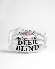 Meet Me At The Deer Blind Cloth face mask aos-face-mask-lifestyle-22