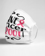 Give cancer the boot Cloth face mask aos-face-mask-lifestyle-21