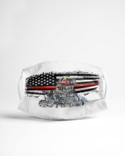 Firefighter flag Cloth face mask aos-face-mask-lifestyle-22