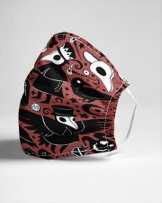 Plague Doctor Pattern Cloth face mask aos-face-mask-lifestyle-21