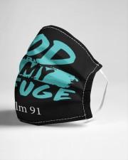 God is my refuge Cloth face mask aos-face-mask-lifestyle-21