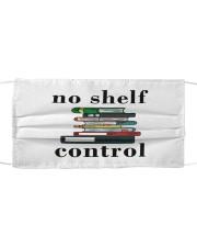 No Shelf Control Cloth face mask front