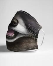 Raccoon Face Cloth face mask aos-face-mask-lifestyle-21