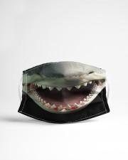Shark Teeth Cloth face mask aos-face-mask-lifestyle-22