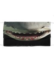 Shark Teeth Cloth face mask front