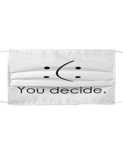 You decide Cloth face mask front