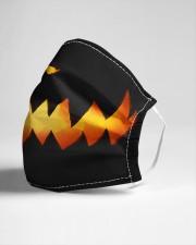 Smiling Pumpkin Cloth face mask aos-face-mask-lifestyle-21