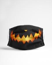 Smiling Pumpkin Cloth face mask aos-face-mask-lifestyle-22