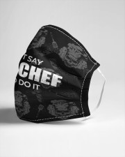 Say Yes Chef Cloth face mask aos-face-mask-lifestyle-21