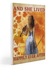 And she lived happily ever after Gallery Wrapped Canvas Prints tile