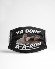 Ya Done Messed Up Cloth face mask aos-face-mask-lifestyle-22