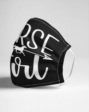 Horse Girl Cloth face mask aos-face-mask-lifestyle-21