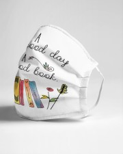 Good Day to Read a Book Cloth face mask aos-face-mask-lifestyle-21