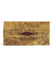 Marauders map Cloth face mask front