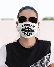 Trailer trash Cloth face mask aos-face-mask-lifestyle-02
