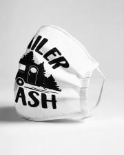 Trailer trash Cloth face mask aos-face-mask-lifestyle-21