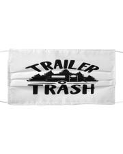 Trailer trash Cloth face mask front