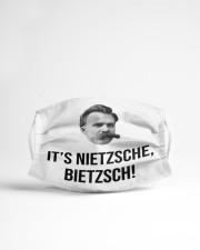 It is Nietzsche Bietzsch Cloth face mask aos-face-mask-lifestyle-22