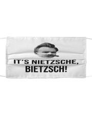 It is Nietzsche Bietzsch Cloth face mask front