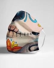 Dia de los Muertos Cloth face mask aos-face-mask-lifestyle-21