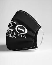 Delta Sigma Theta Cloth face mask aos-face-mask-lifestyle-21