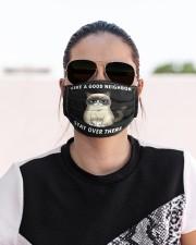 Like a good neighbor Cloth face mask aos-face-mask-lifestyle-02