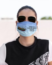 Hotter than a hoochie coochie Cloth face mask aos-face-mask-lifestyle-02